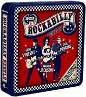 GENE VINCENT/CARL PERKINS/+ - ROCKABILLY REBELS (LIMITED METALBOX ED.) 3 CD NEU