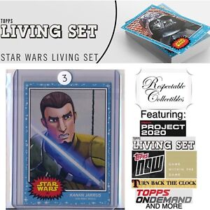 2019 Topps Star Wars Living Set - Card #40 Kanan Jarrus - Rebels