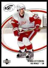 2005-06 Upper Deck Ice Henrik Zetterberg #35