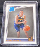 2018-19 Panini Donruss Michael Porter Jr Rated Rookie RC Denver Nuggets #182