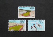 BARBUDA - 1984 SCARCE OLYMPICS HIGH VALUES TO $5 MNH LOT RR