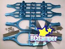 ALUMINUM FRONT & REAR UPPER LOWER SUSPENSION ARM B THUNDER TIGER 1/8 MTA-4 MTA4