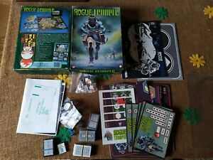GIOCO DI STRATEGIA BOARD GAME ROGUE TROOPER GAMES WORKSHOP VINTAGE COMPLETO