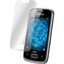 2 x Samsung Galaxy Y Duos Film de Protection clair Protecteurs Écran