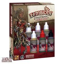Army Painter Zombicide Green horda Paint set zombi colores color warpaints