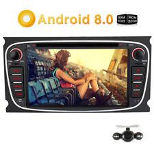 "Kamera+7"" Android 8.0 4GB 32GB Autoradio GPS DVD Player DAB WIFI USB BT Für Ford"