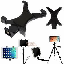 """Tablet Tripod Mount Holder Bracket 1/4""""Thread Adapter Clamp For 7""""-10.1"""" iPad"""