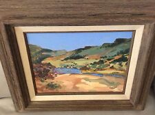 AUTHENTIC ORIGINAL OIL PAINTING BY LISTED NEW MEXICO ARTIST TODD TIBBALS