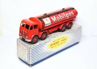 Dinky 941 Foden 14 ton Tanker Mobilgas In Its Original Box - Excellent Vintage