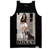 Gnarly King Bully DGA David Gonzales Lowrider Tattoo Chicano Art Tank Top Shirt