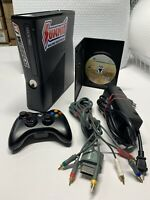 Microsoft Xbox 360 S Model 1439 250GB complete Console BUNDLE + Tested works