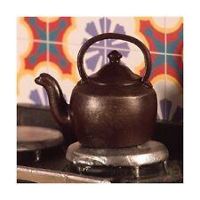 Estufa hervidor Casa de muñecas en miniatura Accesorio De Cocina. Cocina 1,12 Escala
