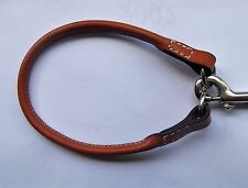 Quick Release Terrier Collar Brown Leather