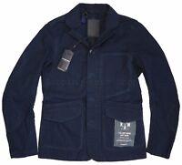 G-Star Raw Essentials Jacket Size-M Re 3d Cropped Blazer 7.5oz Deep Indigo Denim