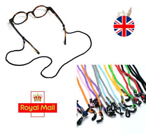 2pcs Reading Glasses Lanyards Neck Cord Spectacles Sunglasses Strap Silicon Grip