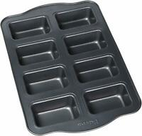 Non Stick Aluminum Muffin Pan,8 Cups Large Muffins, Dark Grey
