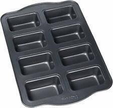 Non Stick Aluminum Muffin Pan,8 Cups Large Muffins, Dark Grey