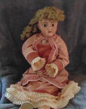 21� Vtg Simon & Halbig? Bisque & Composition Doll-Marked 109 -11 3/4 Dep Germany