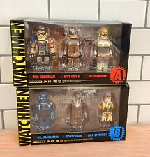 Watchmen Kubrick Medicom Toy Corporation Figures Sets A & B 2009 - Rorschach