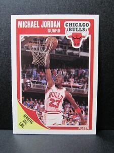 1989-90 Fleer #21 Michael Jordan Bulls BZ851
