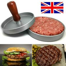 Non-Stick Burger Press Hamburger Meat Beef Grill Patty Maker Mould Kitchen BBQ