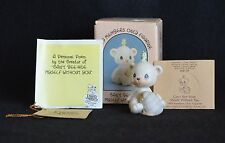 PRECIOUS MOMENTS CAN'T BEE HIVE MYSELF WITHOUT YOU  ~ BC901~BEAR AND BEE ~NIB