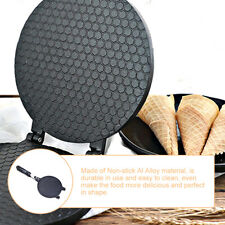 Household Gas Nonstick Waffle Cone Making Mold Mould Baker Egg Roll Baking Tool