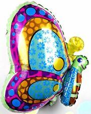 R19F2 NEU XL Schmetterling Helium Folienballon Geburtstag Party Frühling balloon