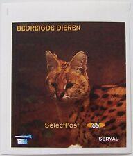 Stadspost Zaanstad 1997- Blokje Bedreigde dieren, Serval postfris ongetand (1)