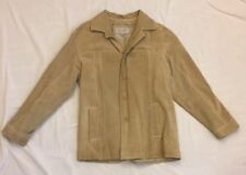Wilson Leather M. Julian Design Men's Suede Jacket Size SMALL