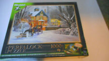 WREBBIT An Evening Stroll  Permalock 1000-piece Jigsaw Puzzle NEW SEALED