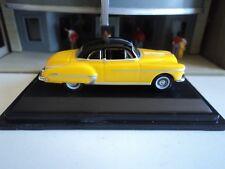 Oxford  1950  OLDSMOBILE  ROCKET 88 Yellow / Black  1/87  HO diecast car GM NEW