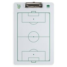 """Dry Erase Soccer Clipboard 14"""" Team Sports Coaching Strategy Playbook Board"""