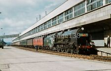 Original Railway Slide: 30857 'Lord Howe' at Southampton Docks see text* 8/32