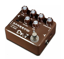 Joyo Dr.J D53 Brown Sparrow Driver & DI for BASS D53 Guitar Effect Pedal