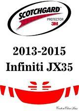 3M Scotchgard Paint Protection Film Clear Bra Fits 2014 2015 Infiniti JX35