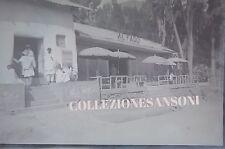 """NEGATIVA FOTOGRAFICA ANNI '30 AFRICA COLONIE """" RISTORANTE AL FARO """"   C7-83"""