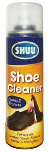 Shoe & Boot Cleaning Cleaner Spray Suede Leather Canvas Protector Footwear 300ml