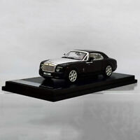 Original Factory Diecast Car Model Rolls-Royce Phantom Coupe in 1:64 Scale Black