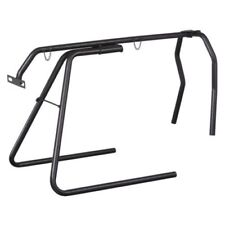 Tough 1® Collapsible Roping Dummy Roping stand bull horns NEW Black Metal Tubing