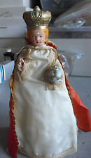 Vintage 1930s Jesus Infant of Prague Church Statue 400 LOOK