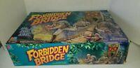 Rare1992 Forbidden Bridge Motorized Adventure Game Milton Bradley for parts