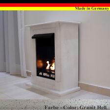 Chimenea Fireplace Caminetti Cheminee Etanol Firegel Madrid Deluxe Granito gris