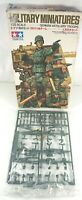 Tamiya Military Miniatures German Artillery Troops x 8 1:35 Model Kit - Unused