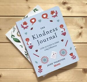 THE KINDNESS JOURNAL WELLBEING MINDFULNESS NOTEBOOK MENTAL HEALTH BOOK CHARITY