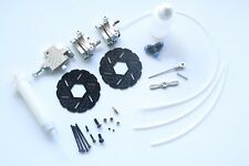 New Front Wheel Hydraulic Brake System fit 1/5 HPI Baja 5B SS 5T  Rovan Silver