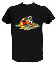 Tshirt Sheldon Cooper Uomo Bambino Maglietta Cubo Rubik Serie TV Big Bang Theory