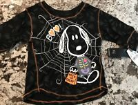NWT TODDLER GIRL PEANUTS HALLOWEEN SHIRT SIZE 3T