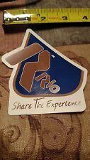Rio Ammunition Share the Experience Vinyl Sticker Decal OEM Original