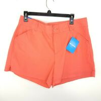 Columbia Sportswear Womens Washed Out Short Shorts Reg Fit Coral NWT